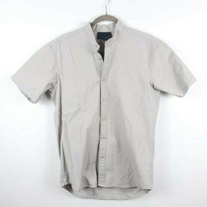 Kith Band Collar Button Down Shirt Small